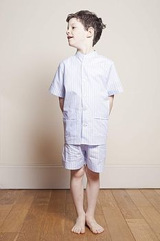 Boy's Stripy Pyjamas