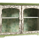 Two Door Wallpaper Cabinet In Green By Nordal