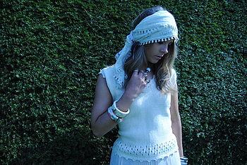 Women's Pure Cotton Sleeveless Top