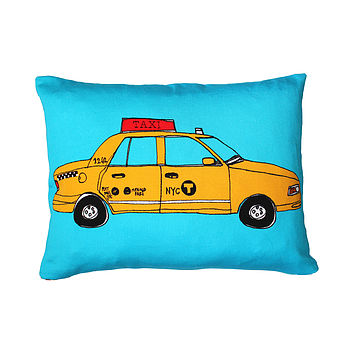 New York Taxi Cushion