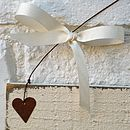 Personalised Hanging Wedding Sign