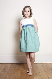 Linen Summer Dress - dresses