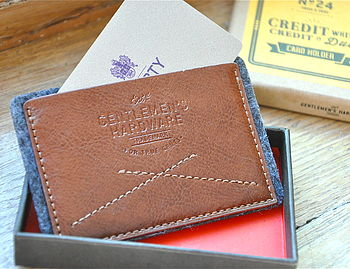 Classic Style Credit Card Holder