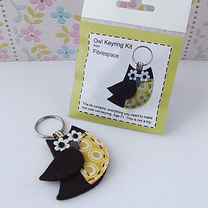 Owl Keyring Mini Craft Kit - toys & games