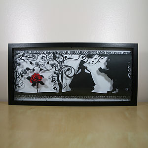 The Beauty Of A Beast Papercut