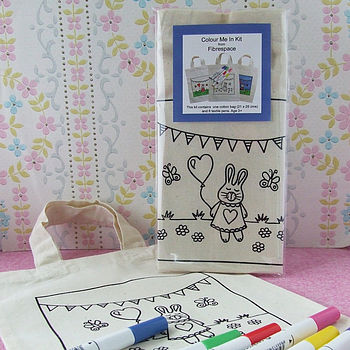 'Colour Me In' Bunny Bag Kit