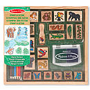Large Rain forest Stamp Set