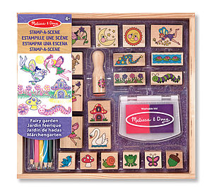 Wooden Stamp Sets - toys & games