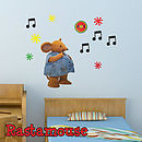 Rastamouse Fats Childrens Wall Sticker