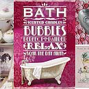 Luxurious Pink Bath Time Gift Collection