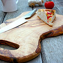Duel Sided Rustic Chopping Board