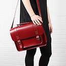 Red - Boho Briefcase Collection
