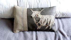 Highland Cow Large Cushion