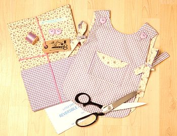 Make and sew dress kit for baby