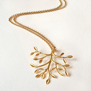Gold Tree Necklace - necklaces & pendants