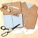 Make And Sew Baby Waistcoat Kit