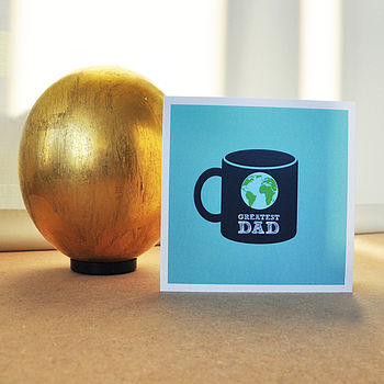 World's 'Greatest Dad' Card
