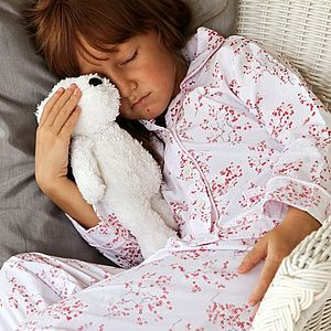 Blossom Red/Pink Classic Pyjama - children's nightwear