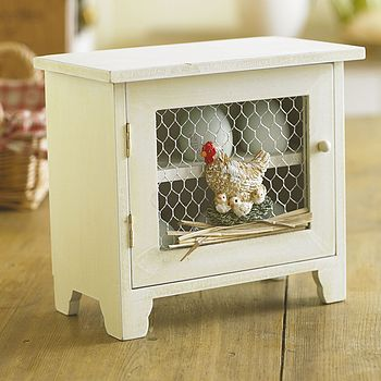 Farmhouse Egg Cabinet