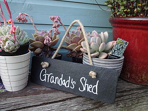 Personalised Slate Sign - gifts for him
