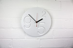 Nine2 Five Zero Clock Modern Wall Clock
