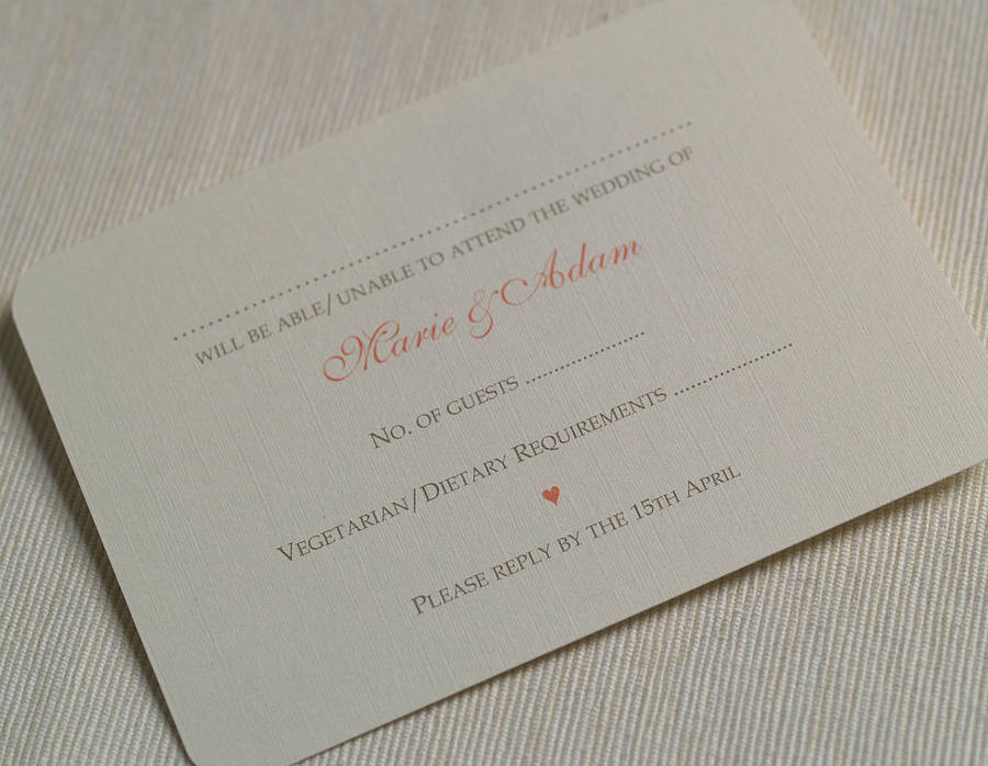 how to put guest names on wedding invitations%0A Folded Summer Wedding Invitations