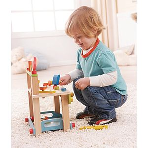 Workbench Wooden Toy - wooden toys