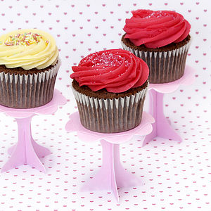 Cupcake Pedestal Stands - dining room