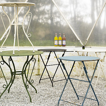 Iron Garden Table By Nordal