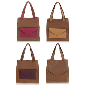 Classic Leather Brixton Tote Bag - view all sale items