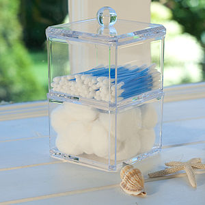 Acrylic Stacking Storage Boxes - jewellery storage & trinket boxes