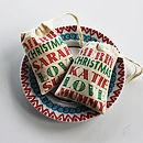 Personalised Mini Christmas Gift Bag