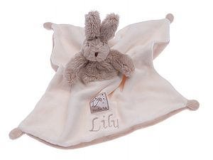 Baby's Personalised Embroidered Comforter