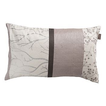 Taplow Cushion Lily White