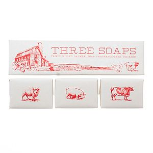 Harvest Trio Of Soaps - men's grooming & toiletries