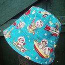 Boys 'Rocket Boy' Reversible Sun Hat