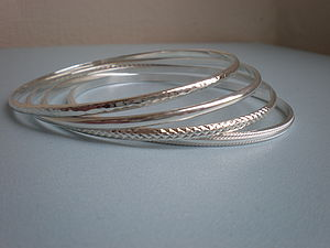 Sterling Silver Stacker Bangle - bracelets & bangles