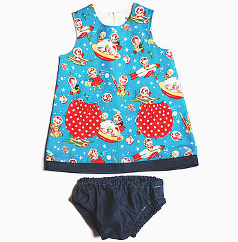Girls Rocket Rascal Baby Dress Set