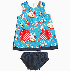Girls Rocket Rascal Baby Dress Set - clothing