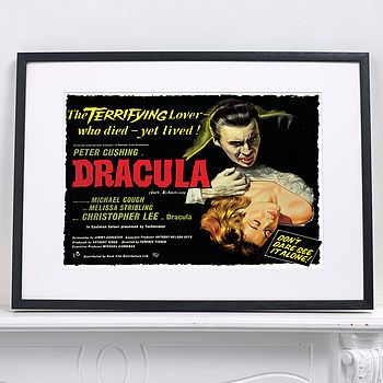 Official Dracula Film Poster