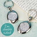 Name Definition Personalised Keyring