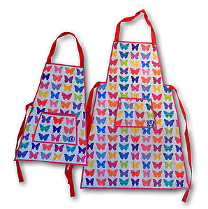 Butterfly Aprons For Kids And Adults - kitchen