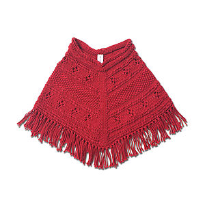 Hand Knitted Poncho - jumpers & cardigans
