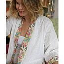 'Sugar & Candy' Long Kimono Gown