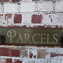 Reclaimed Parcels Office Coat Rack