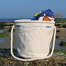 Beach Bag 'Oh I Do Like To Be Beside The Sea …' Design
