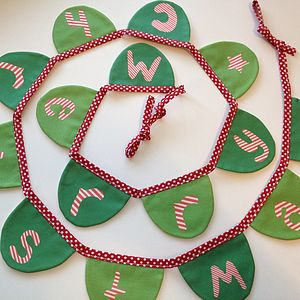Christmas Bunting 'Merry Christmas' - garlands & bunting