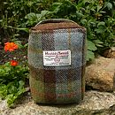 Harris Tweed Doorstop - brown check