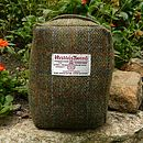 Harris Tweed Doorstop - traditional green