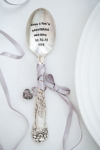 Personalised Vintage Wedding Favours - wedding favours
